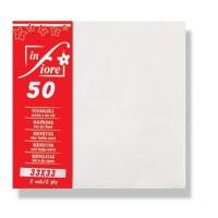 Infibra fehér szalvéta 33x33